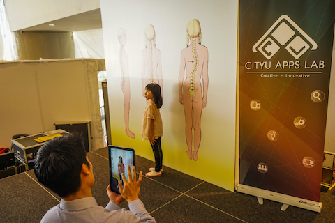 Launch of Posture Check App 2014