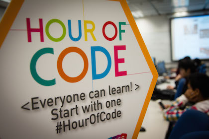 'Hour of Code' in HK