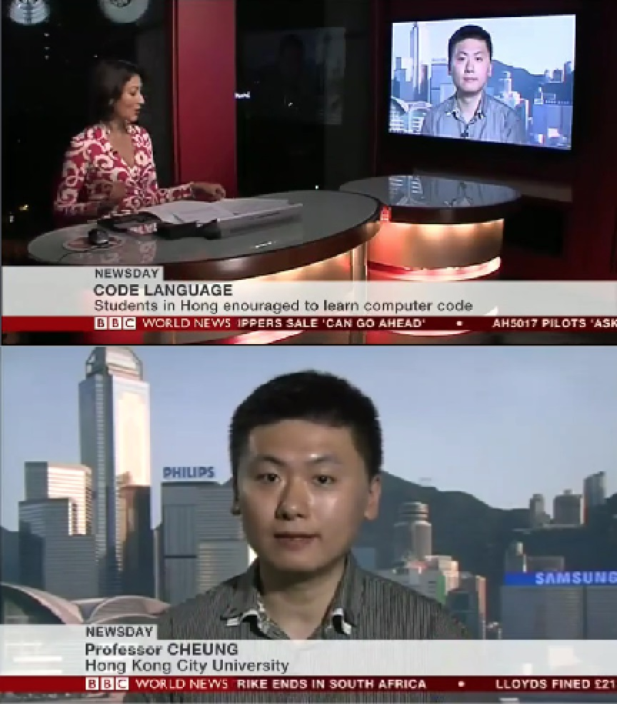 BBC World News interview with Dr. Ray (CAL Director)
