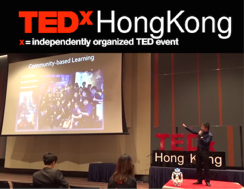 TEDxHongKongLive – Driving Student Innovations From Idea To Realization